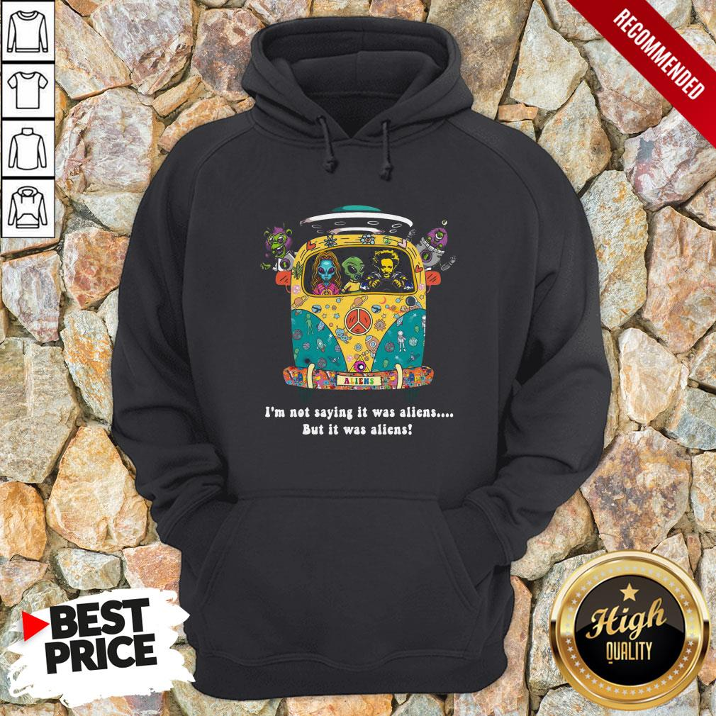 Giorgio A. Tsoukalos I'M Not Saying It Was Aliens But It Was Aliens Hoodie