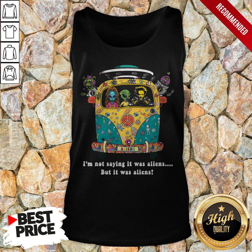Giorgio A. Tsoukalos I'M Not Saying It Was Aliens But It Was Aliens Tank Top