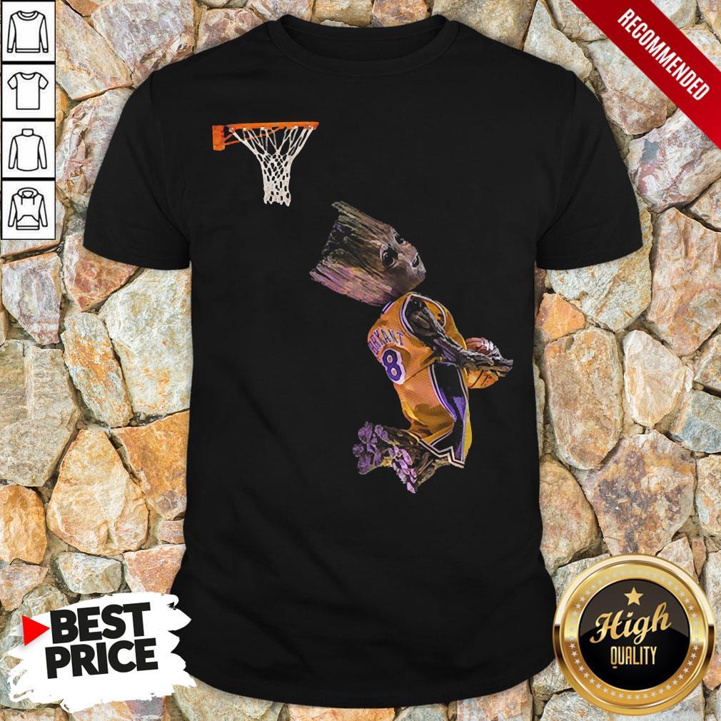 Groot Getting His Kobe On Shirt