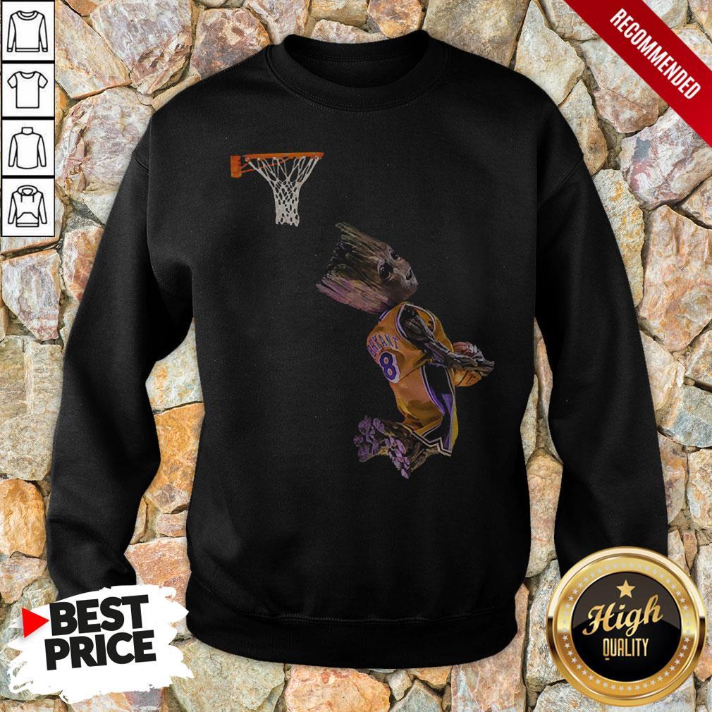 Groot Getting His Kobe On Sweatshirt