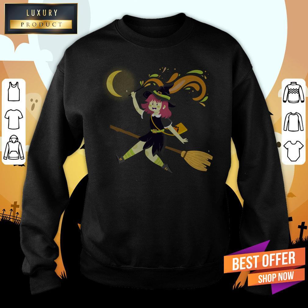 Happy Halloween Day 2020The Girl Sweatshirt