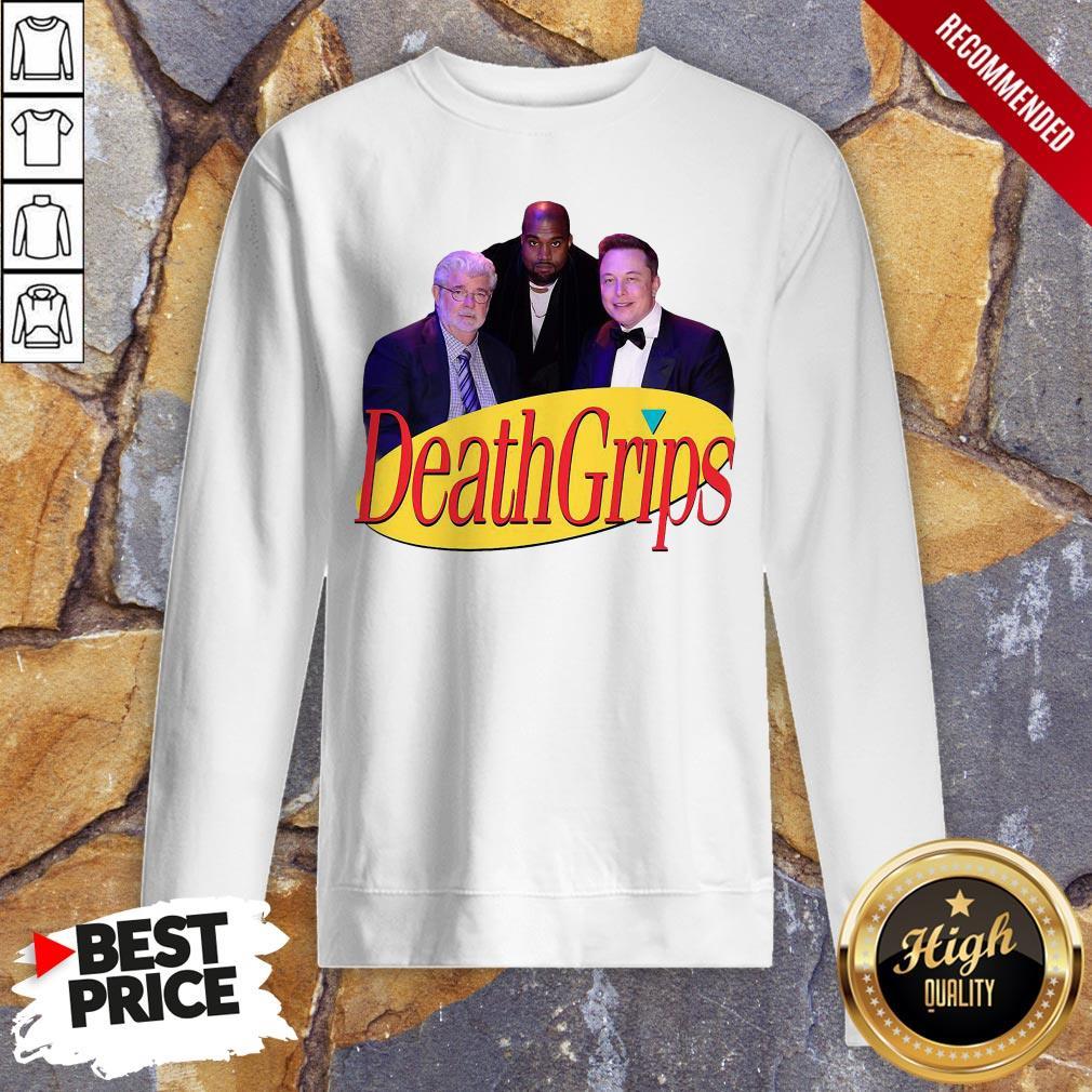 Hot Seinfeld Death Grips Sweatshirt