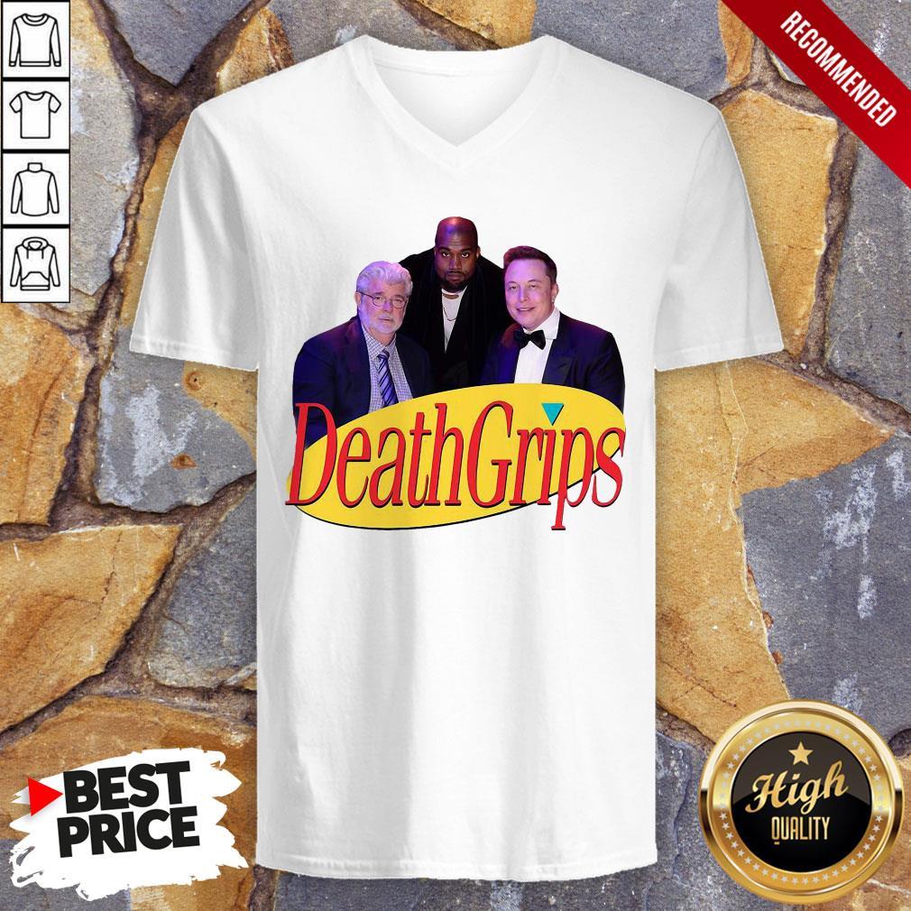 Hot Seinfeld Death Grips V-neck