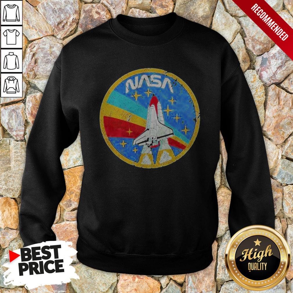 Nice LGBT Plane Nasa Logo Sweatshirt