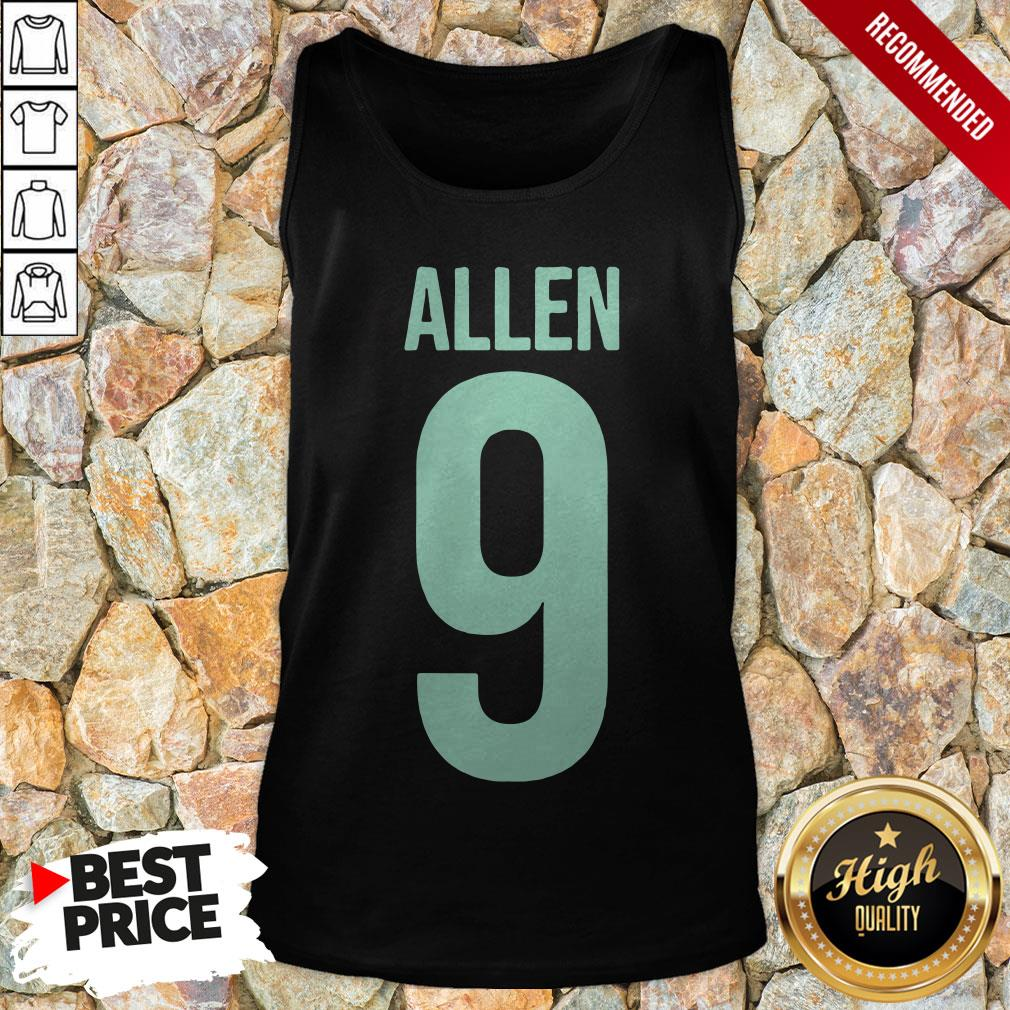 Nice Turquoise Color Allen 9 Tank Top