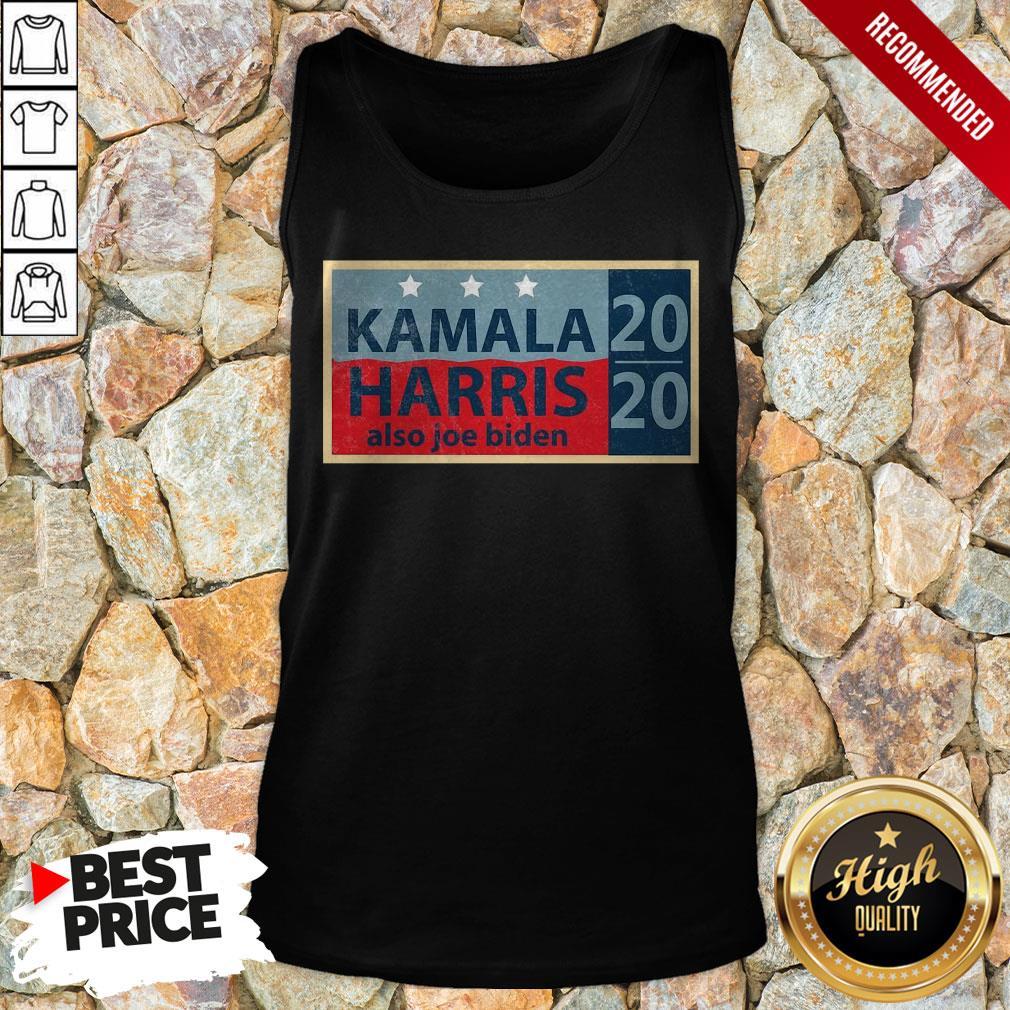 Official Kamala Harris Also Joe Biden Election Tank Top