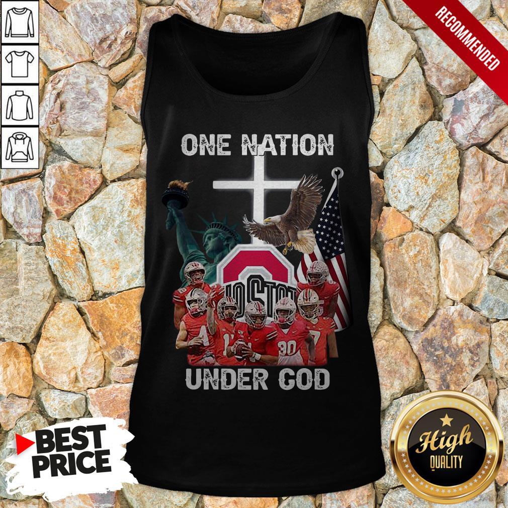 Ohio State Buckeyes One Nation Under God Tank Top