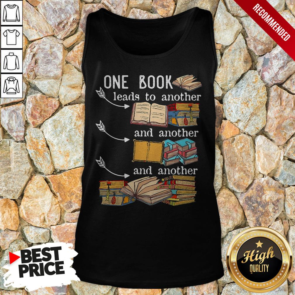 One Book Leads To Another And Another And Another Tank Top