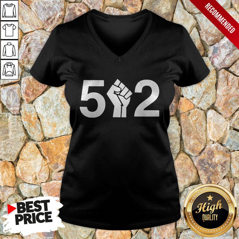 Premium 5 Fist 2 V-neck