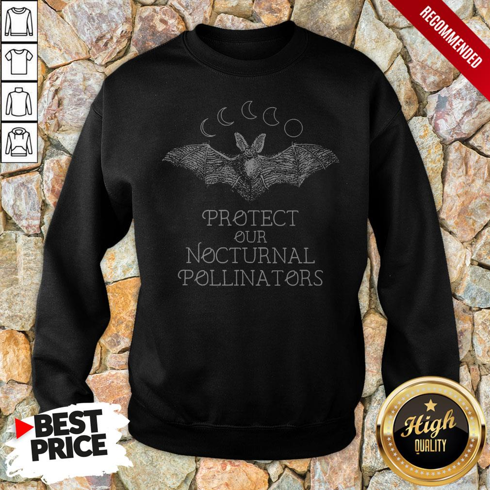 Protect Our Nocturnal Pollinators Halloween Protect Our Nocturnal Pollinators Halloween Sweatshirt
