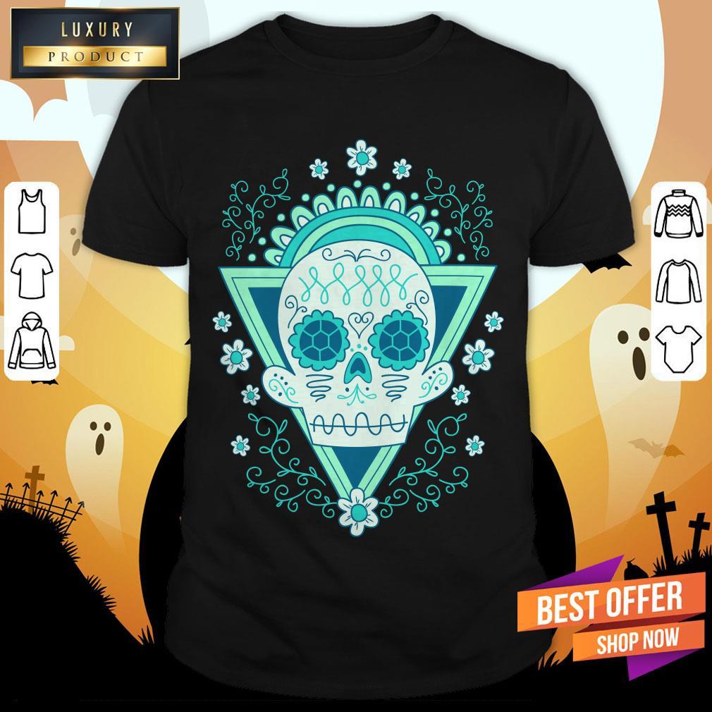 Sugar Skull Day Ò The Dead Vintage Shirt