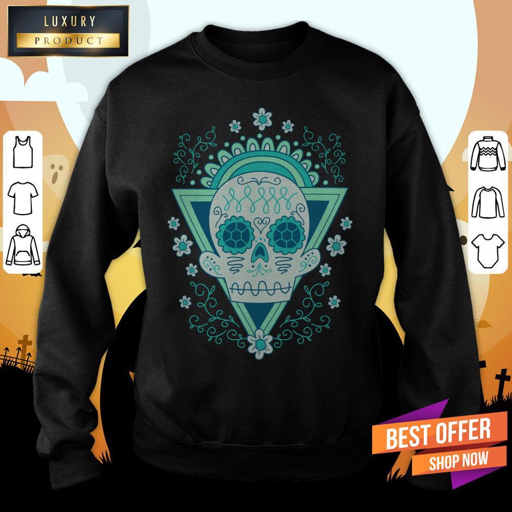 Sugar Skull Day Ò The Dead Vintage Sweatshirt