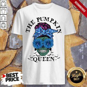 Sugar Skull Girl The Pumpkin Queen Halloween Shirt