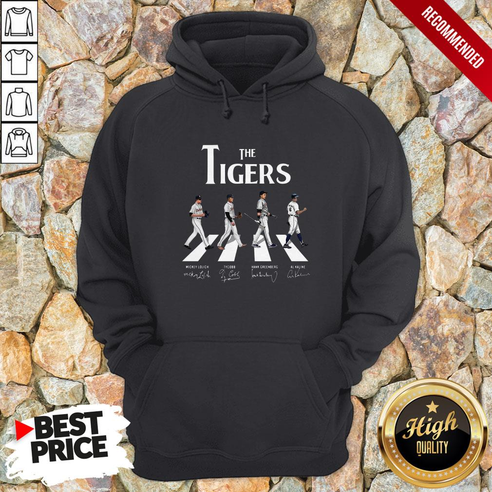 The Tigers Abbey Road Signatures Hoodie