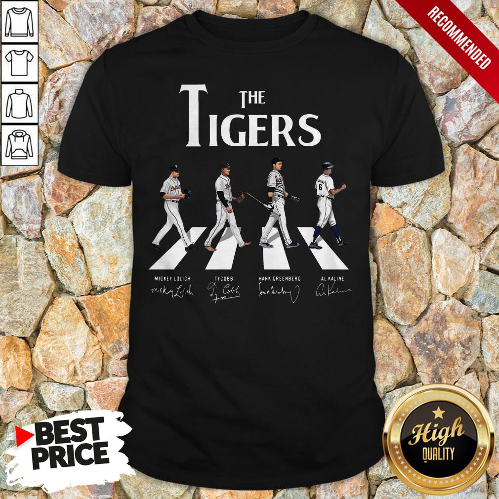 The Tigers Abbey Road Signatures Shirt