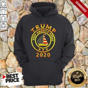 Trump Keep America Flag Great 2020 Hoodie