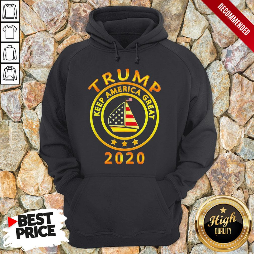 Trump Keep America Flag Great 2020 Hoodie