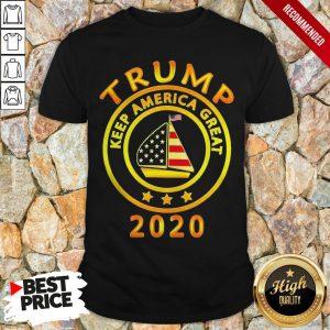 Trump Keep America Flag Great 2020 Shirt
