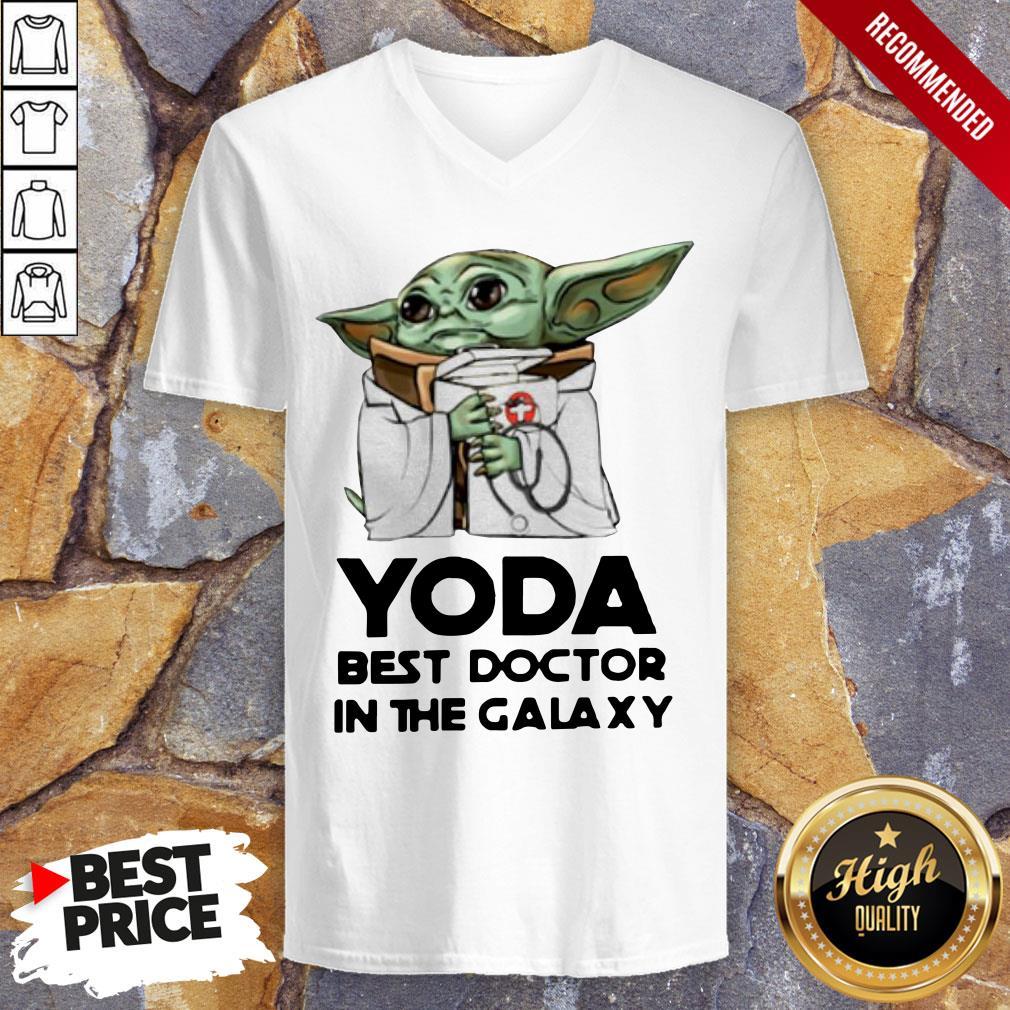 Yoda Best Doctor In The Galaxy V-neck