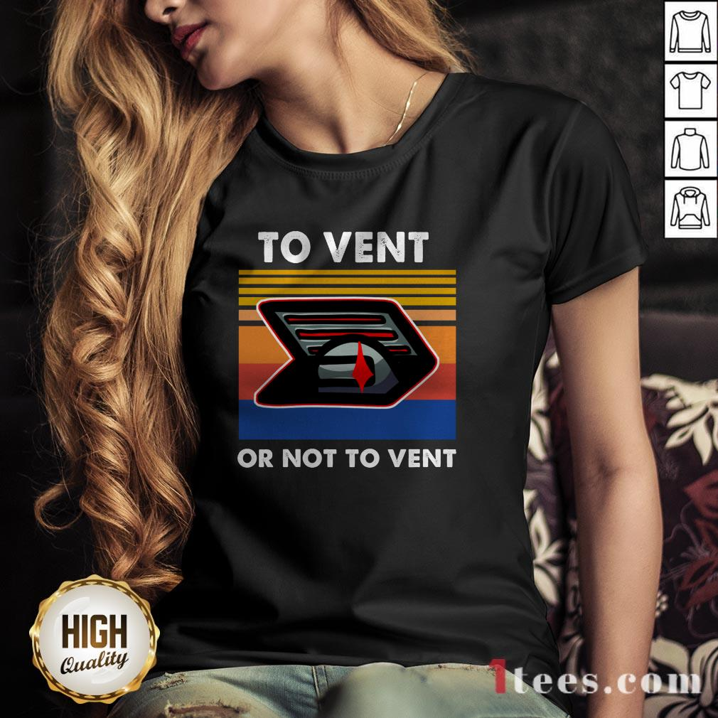 Among Us Impostor To Vent Or Not To Vent V-neck
