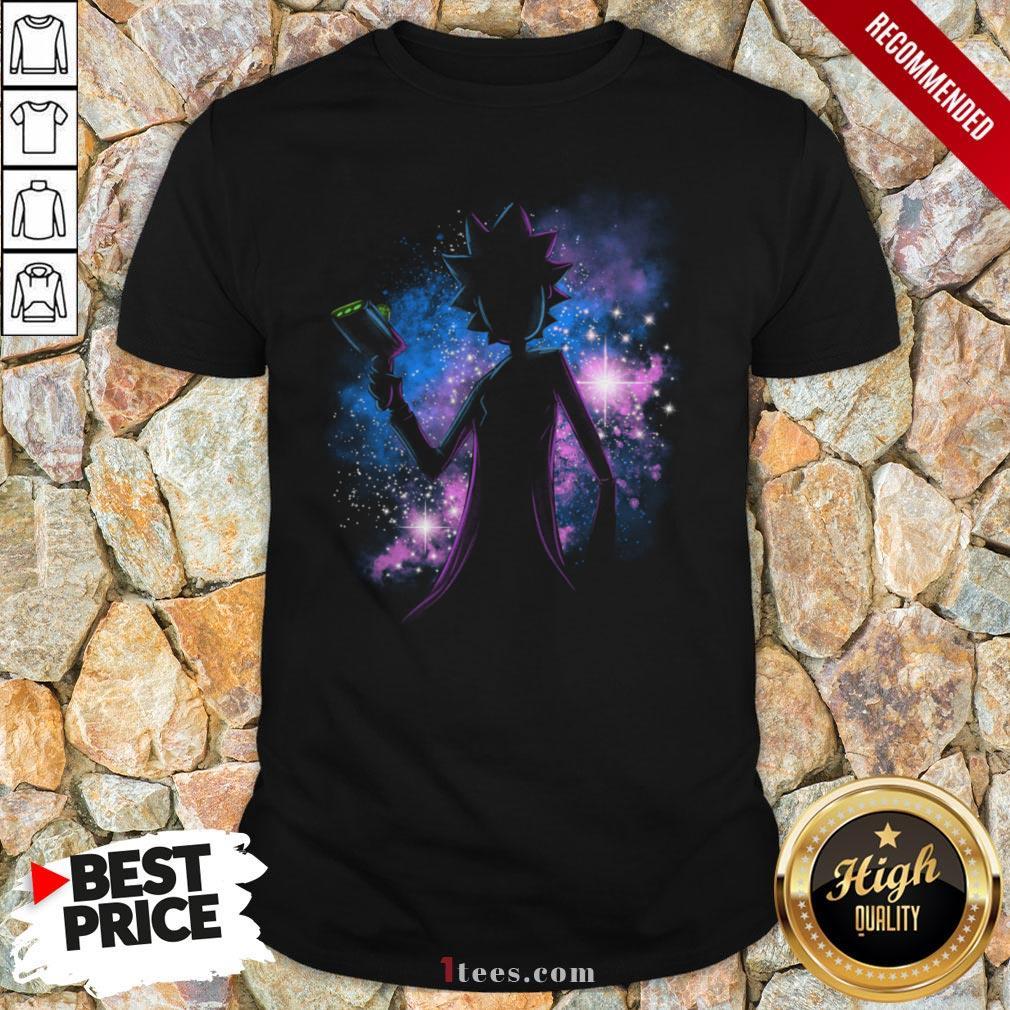 Awesome Rick Sanchez Galaxy Shirt