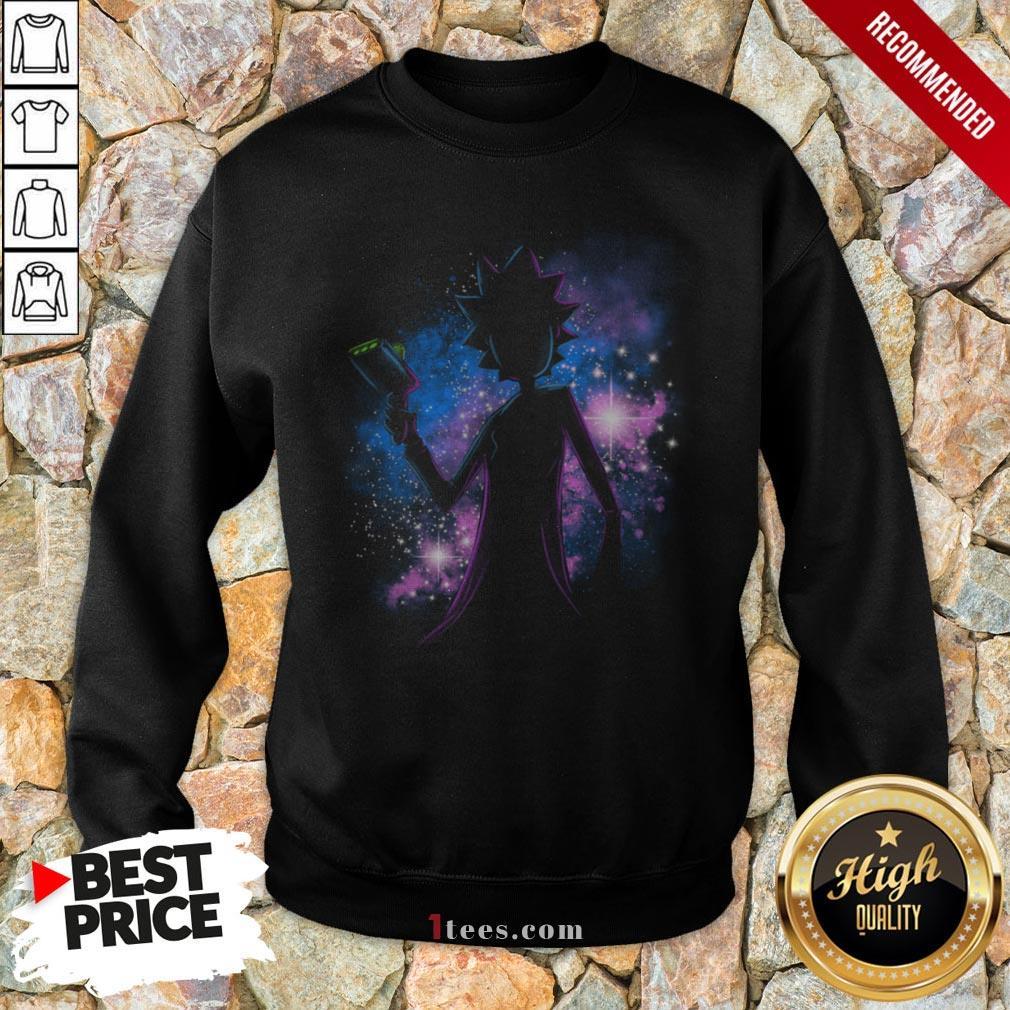 Awesome Rick Sanchez Galaxy Sweatshirt