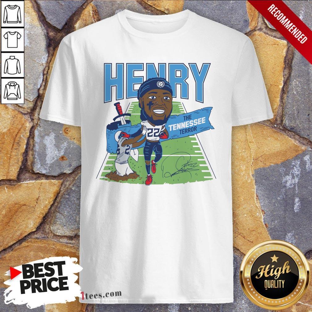 Derrick Henry The Tennessee Terror Signature Shirt