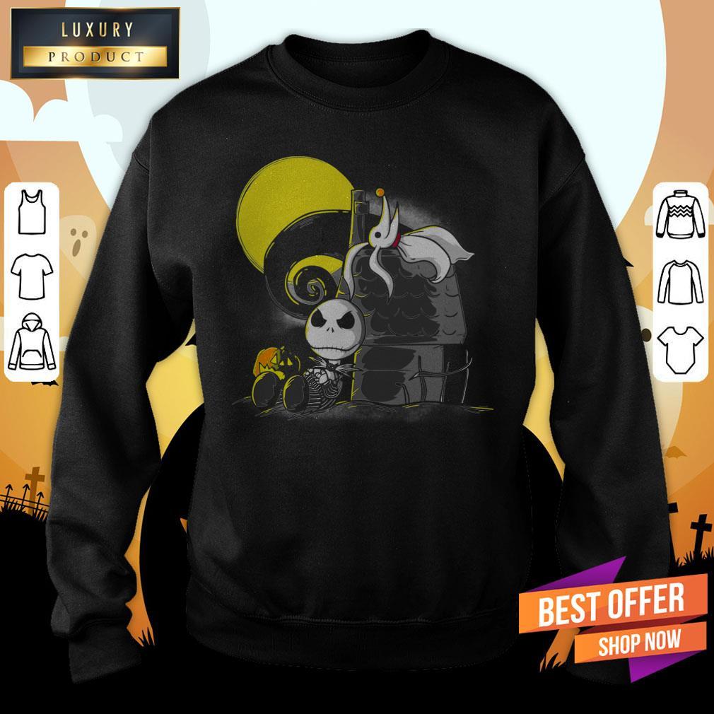 Friends Of Nightmare Jack Ghost Halloween Day Sweatshirt