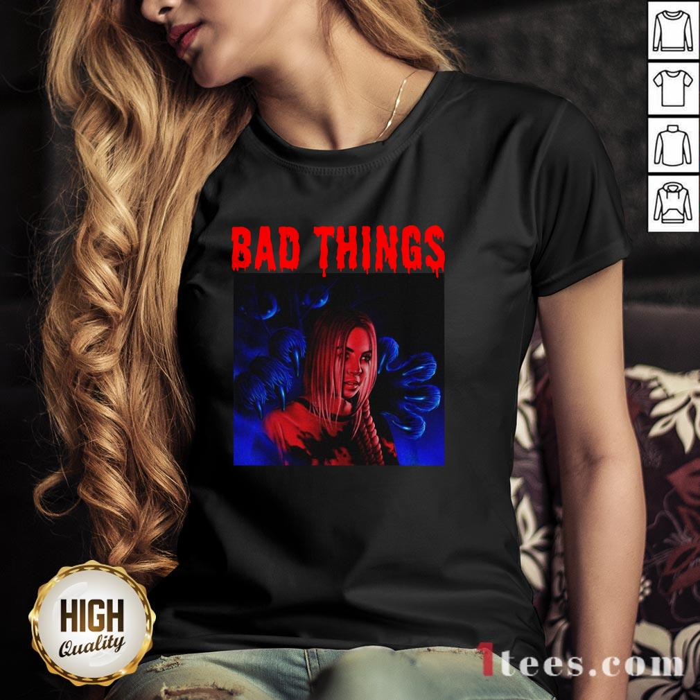 Funny Bad Things V-neck