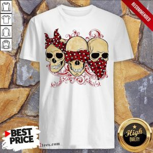 Funny Three Skull Halloween Shirt