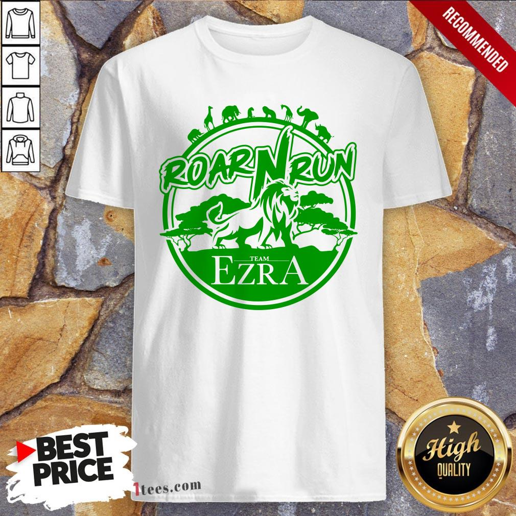 Hot Roar Run team Ezra Shirt