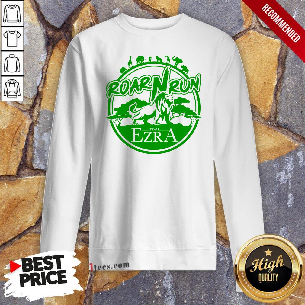 Hot Roar Run team Ezra Sweatshirt