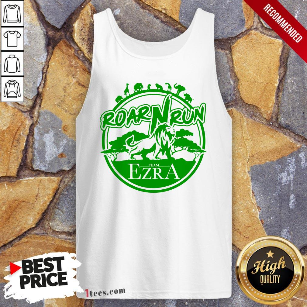 Hot Roar Run team Ezra Tank Top