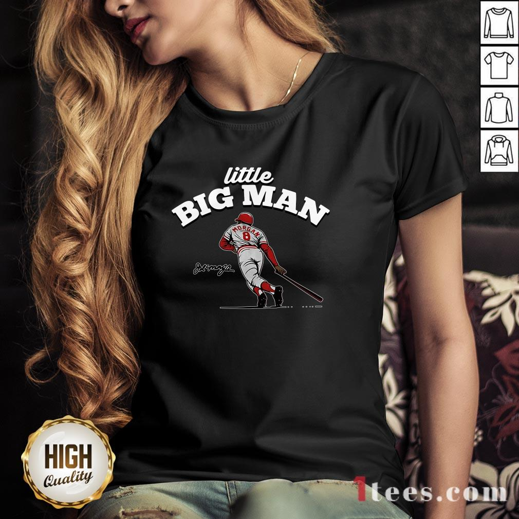 Joe Morgan Little Big Man V-neck