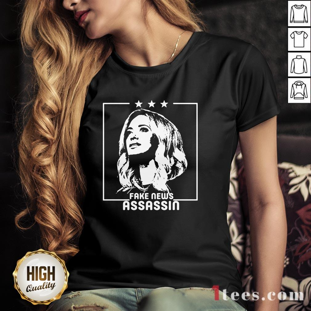 Kayleigh McEnany Fake News Assassin V-neck