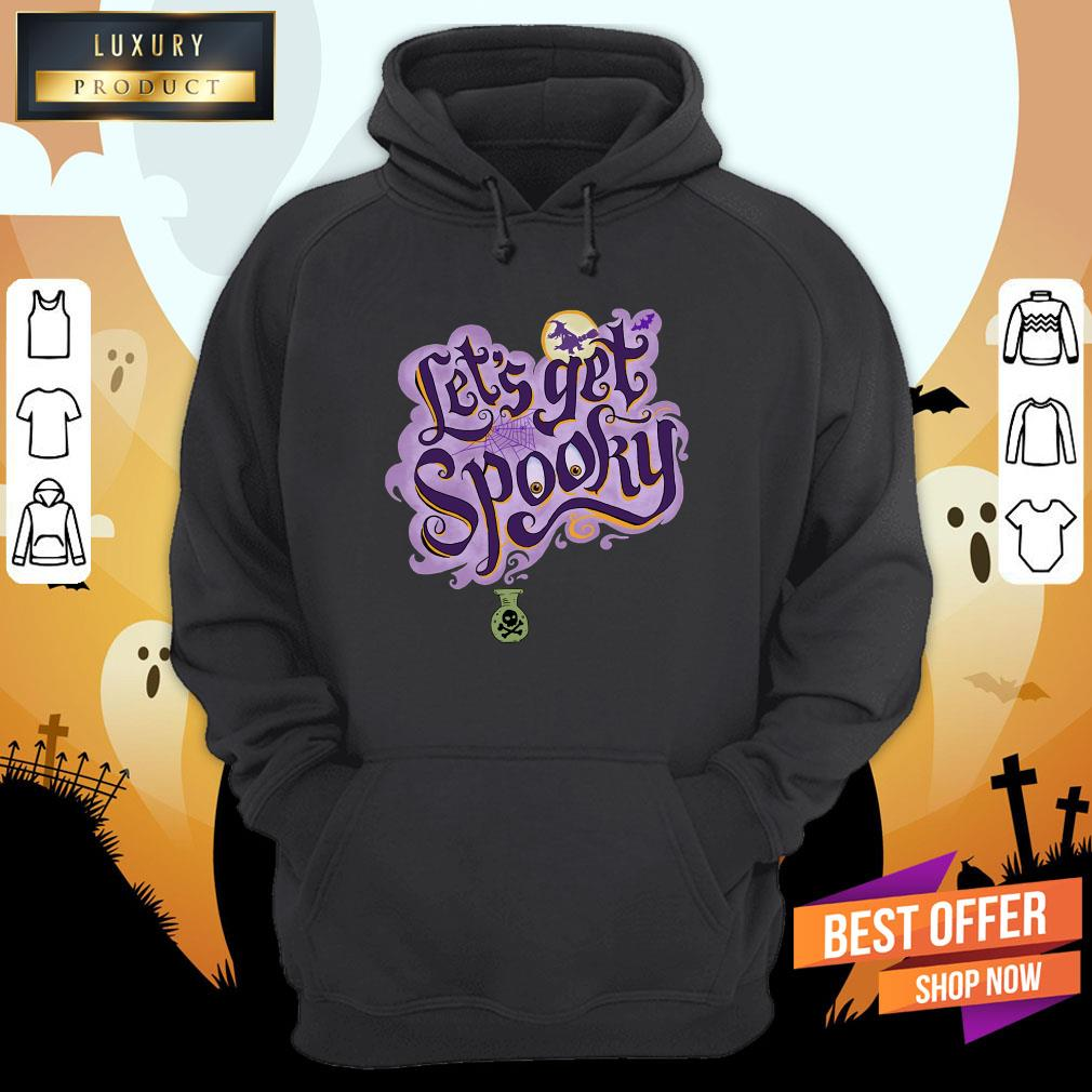 Let'S Get Spooky Witch Halloween Costume Hoodie