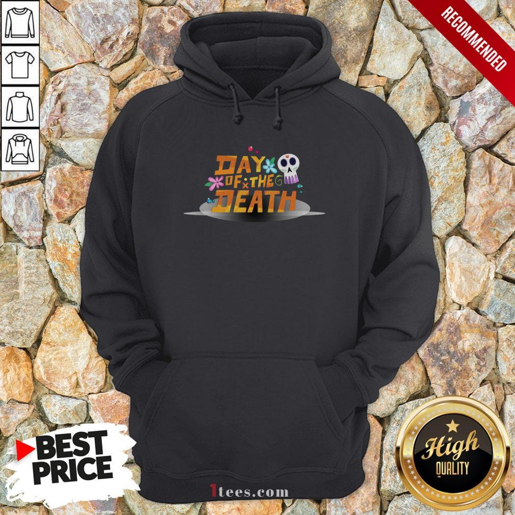 Mexican Day Of The Death Dia De Muertos Sugar Skull Hoodie