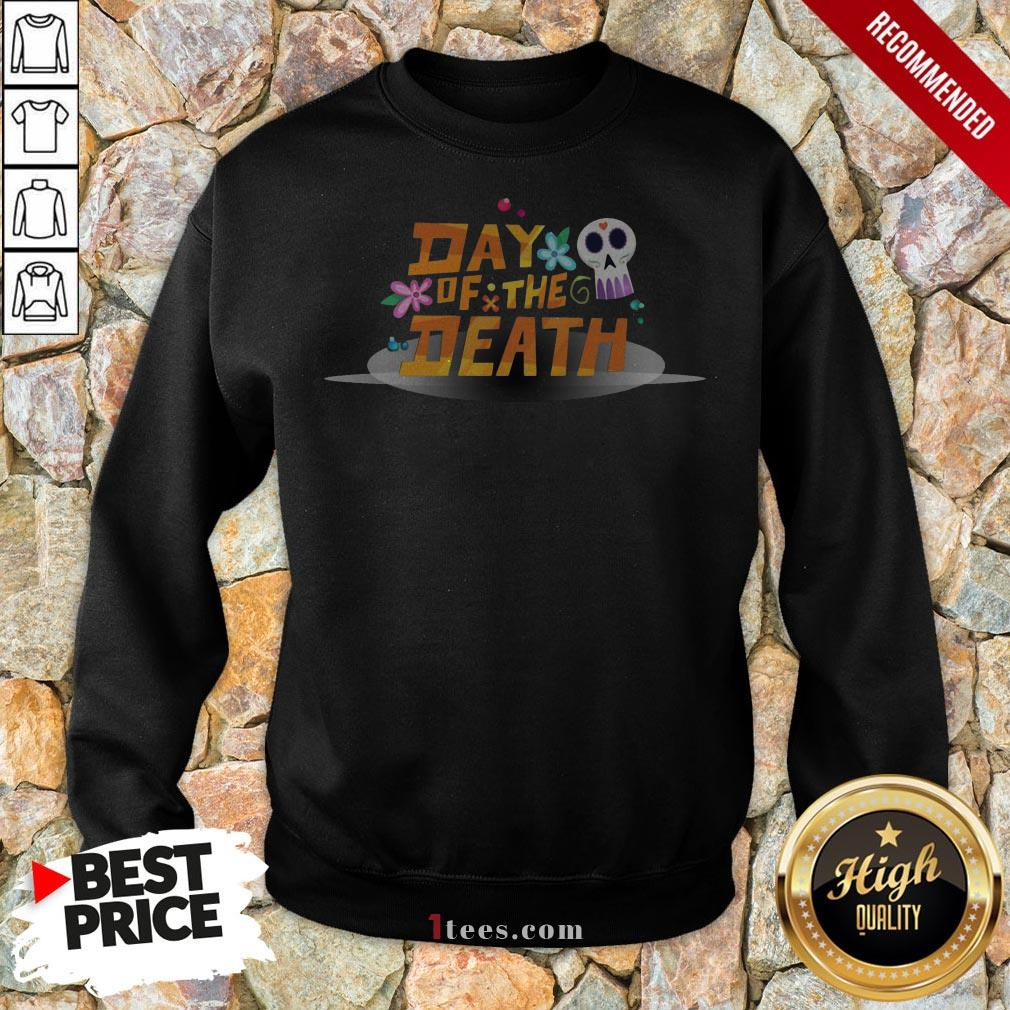Mexican Day Of The Death Dia De Muertos Sugar Skull Sweatshirt