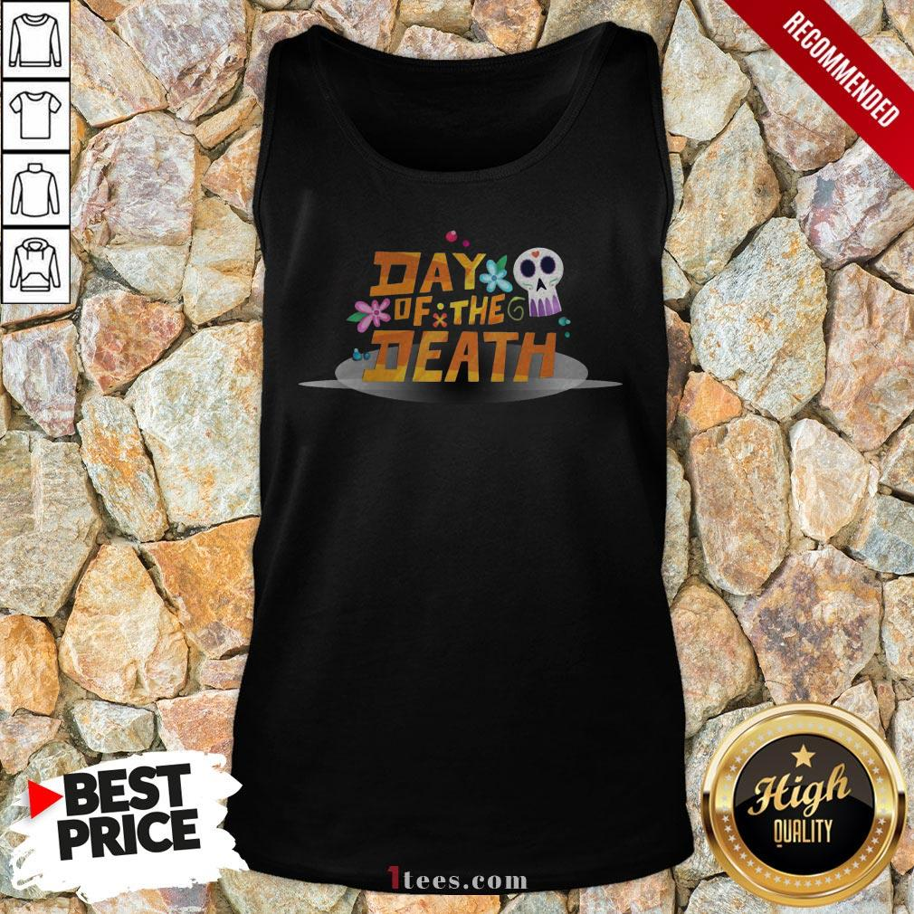 Mexican Day Of The Death Dia De Muertos Sugar Skull Tank Top