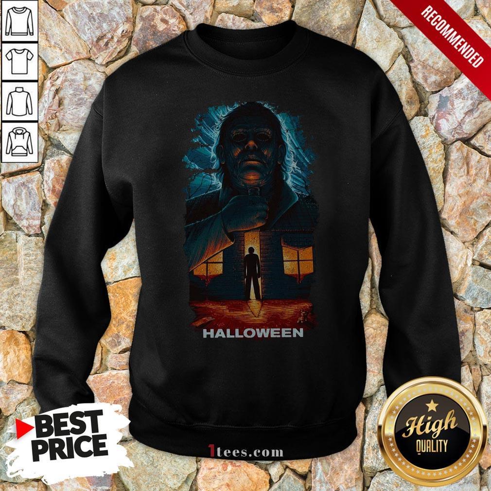 Michael Myers Matthias Hanutko En Talenthouse Halloween Sweatshirt