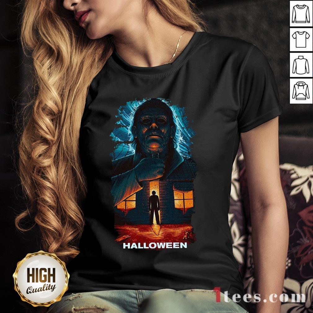 Michael Myers Matthias Hanutko En Talenthouse Halloween V-neck