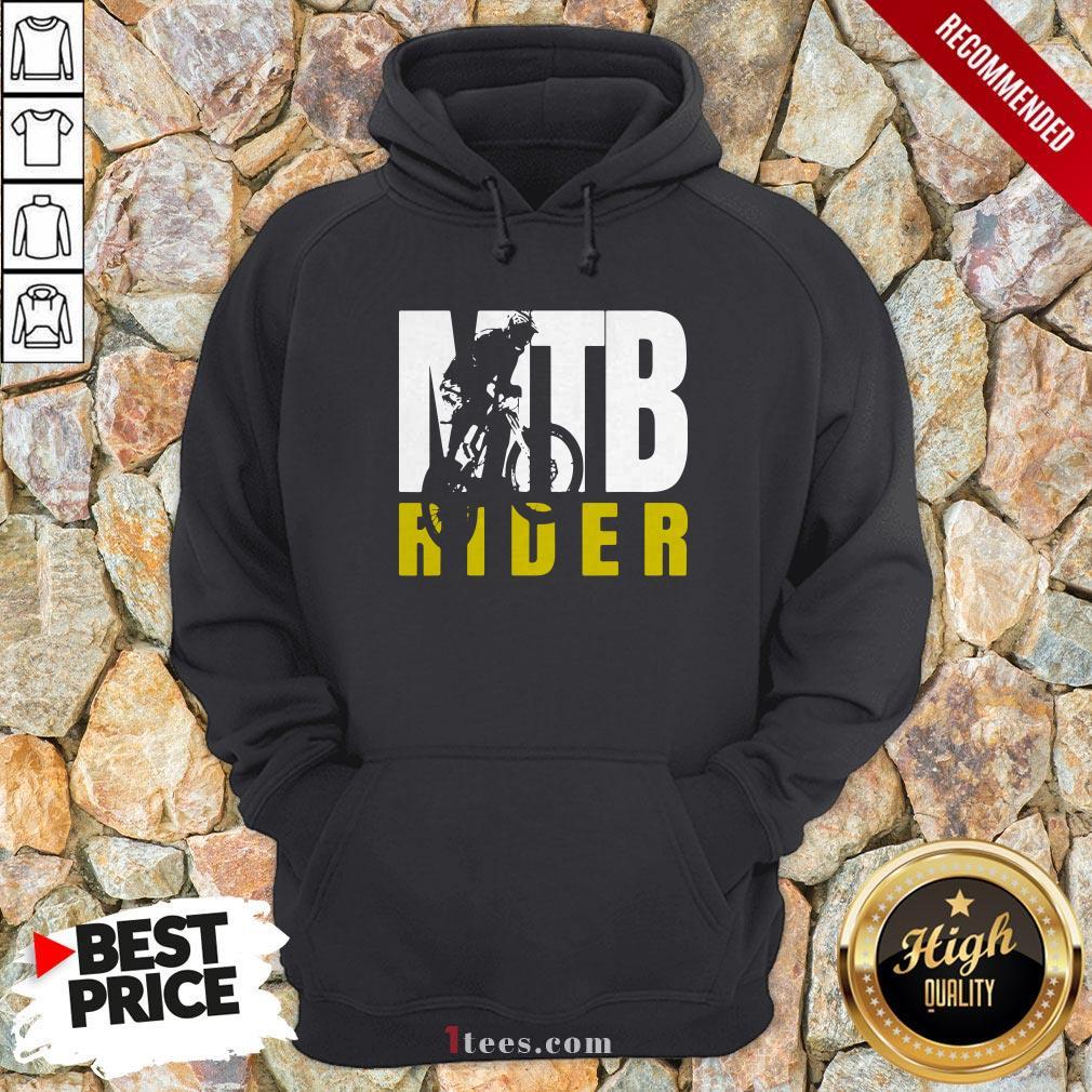 MTB Rider Man Run Bike Hoodie