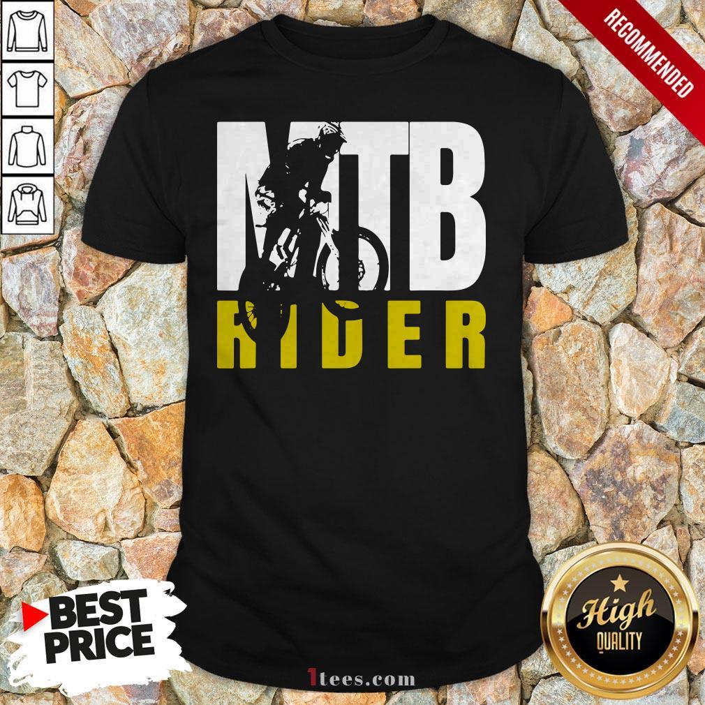 MTB Rider Man Run Bike Shirt
