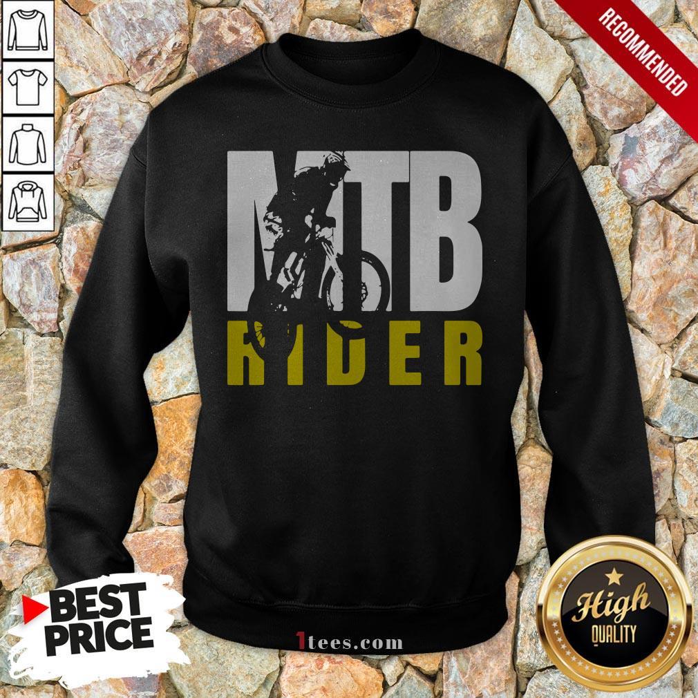 MTB Rider Man Run Bike Sweatshirt