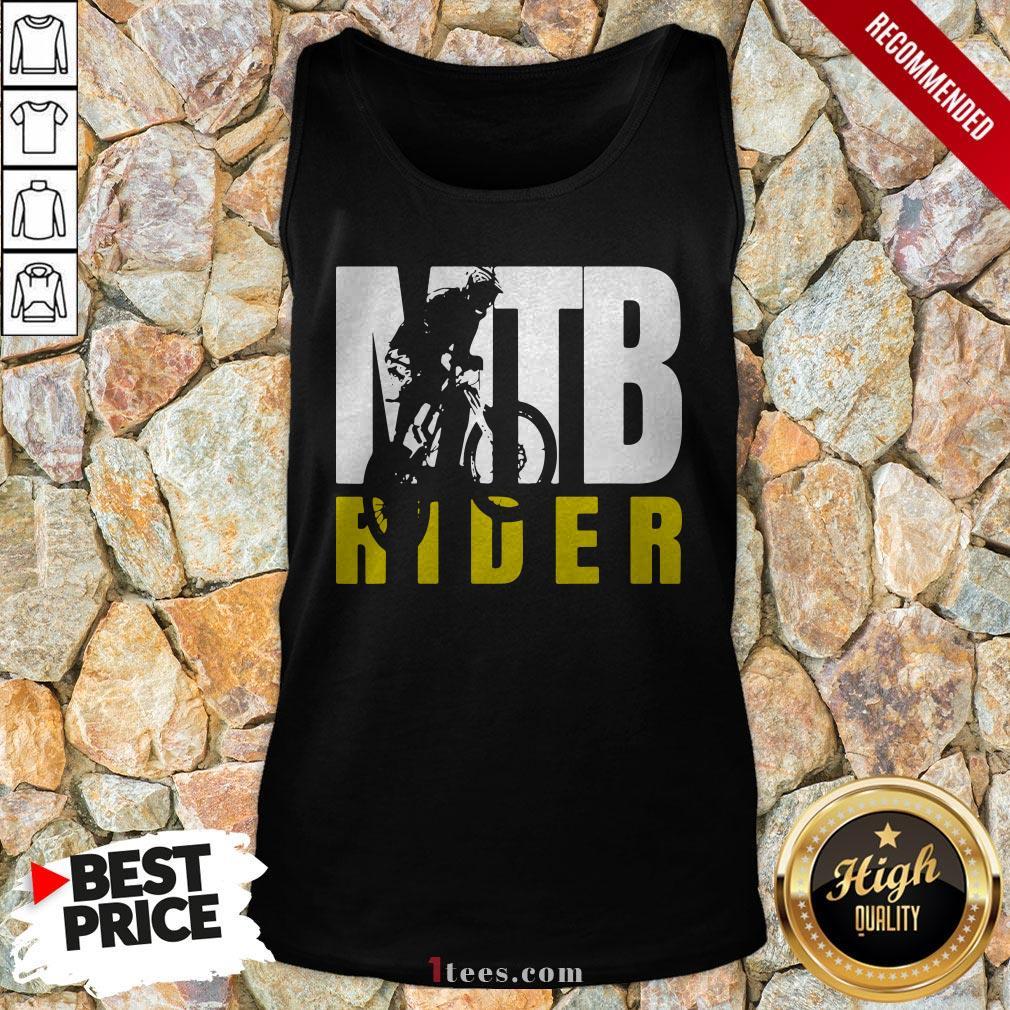 MTB Rider Man Run Bike Tank Top