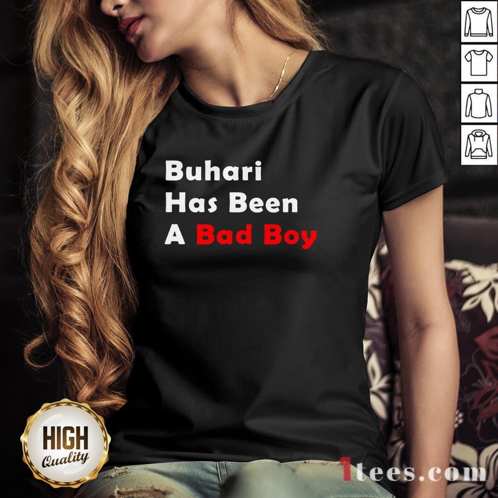 Official Buhari Has Been A Bad Boy V-neck