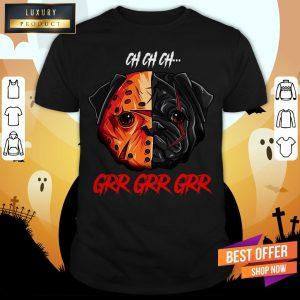 Oh Oh Oh Grr Grr Pug Dog Wear Mask Funny Halloween Shirt