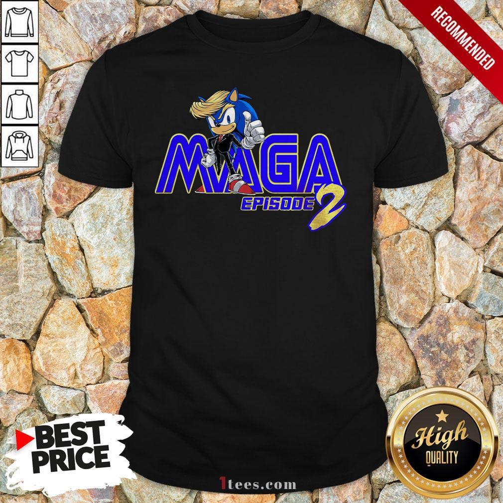 Sonic Hedgehog Maga Episode 2 Shirt