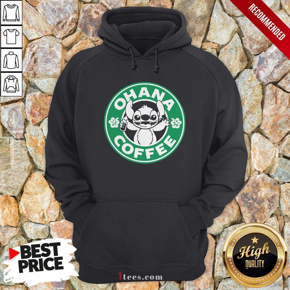 Starbucks Stitch Ohana Coffee Logo Hoodie