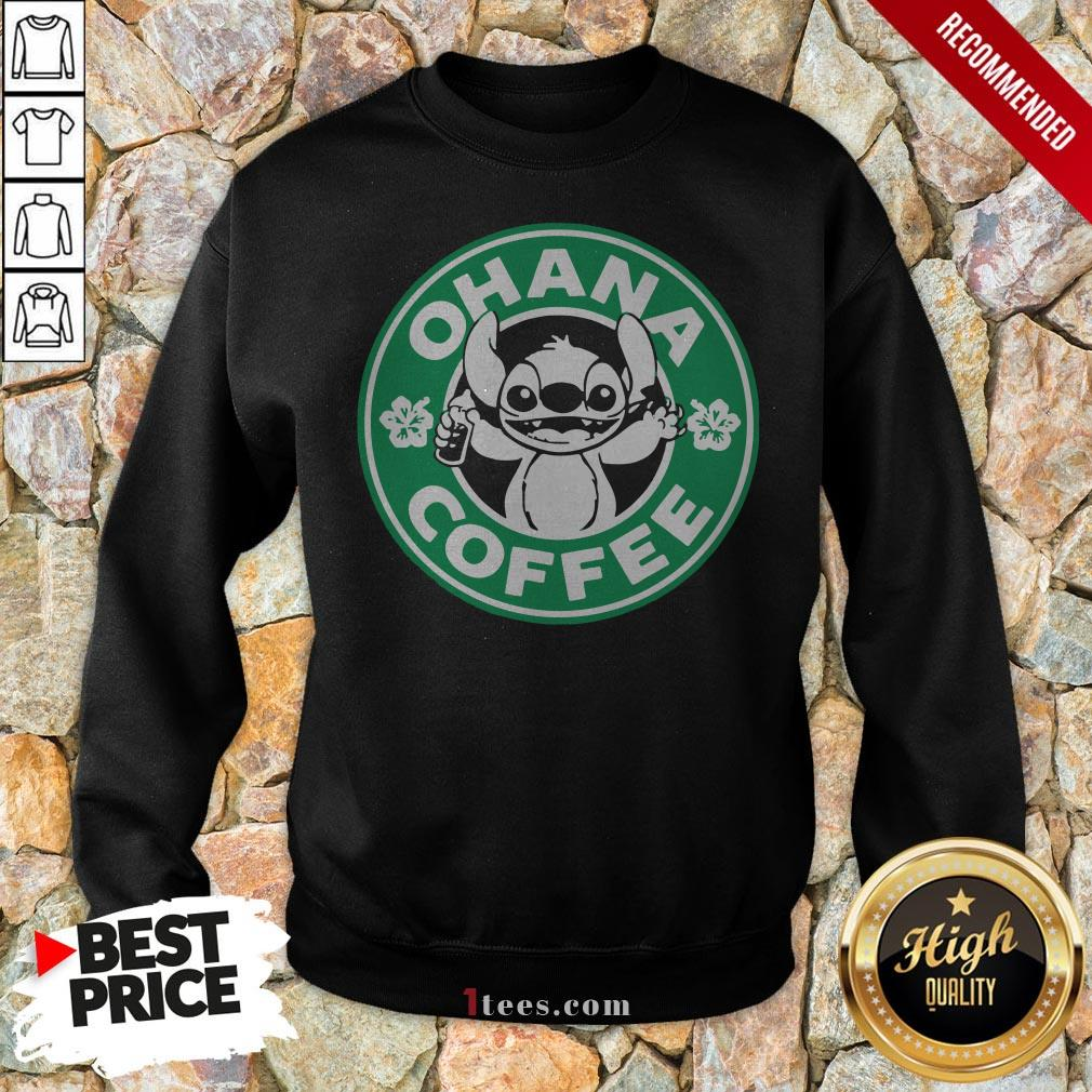Starbucks Stitch Ohana Coffee Logo Sweatshirt